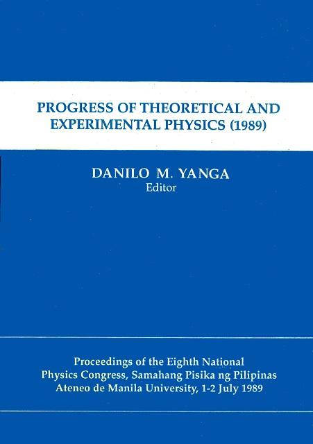 SPP 1989 Proceedings cover