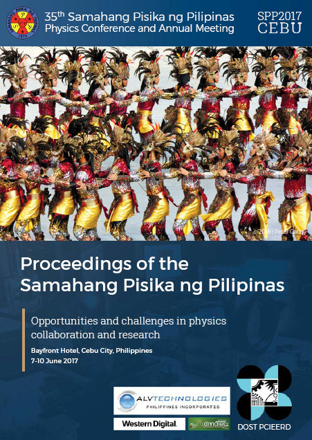 Proceedings SPP 2017 Cover